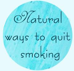natural way to quit smoking