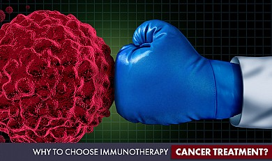 choose Immunotherapy cancer treatment