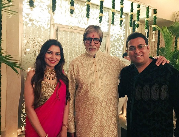 Directors of Cancer Healer Center at Diwali Milan hosted by the legend Amitabh Bachchan