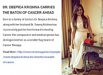 Dr. Deepica Krishna Carries the Baton of Cancer Ah